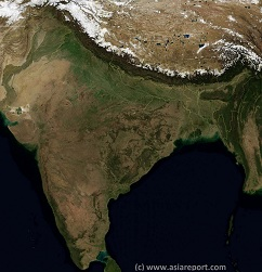 Satellite Image Overview of India, Tibet and More !