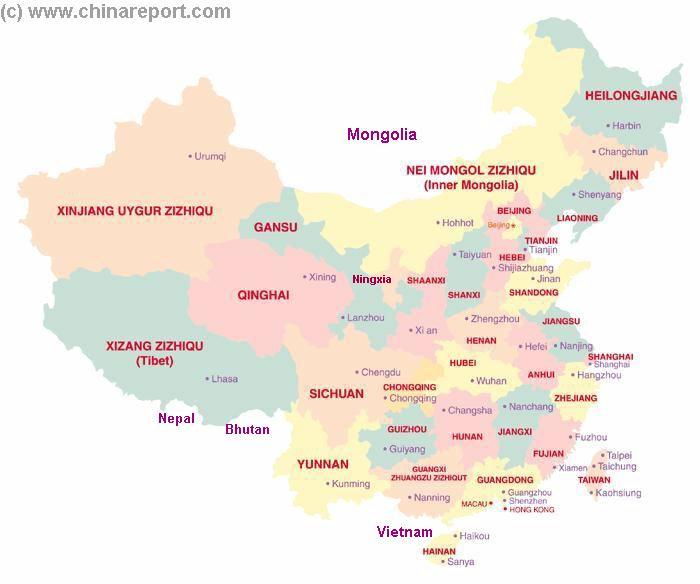 Click to go to Map China !